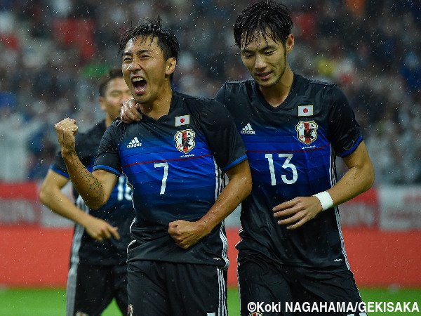 kurata first goal japan international newzealand