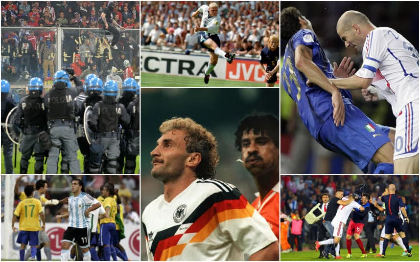 International football rivalries