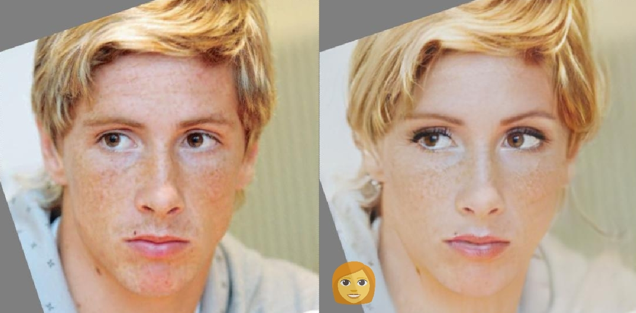 Fernando Torres FaceApp