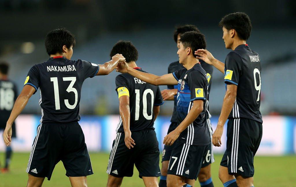 HT Japan 1-0 New Caledonia #FIFAU17WC