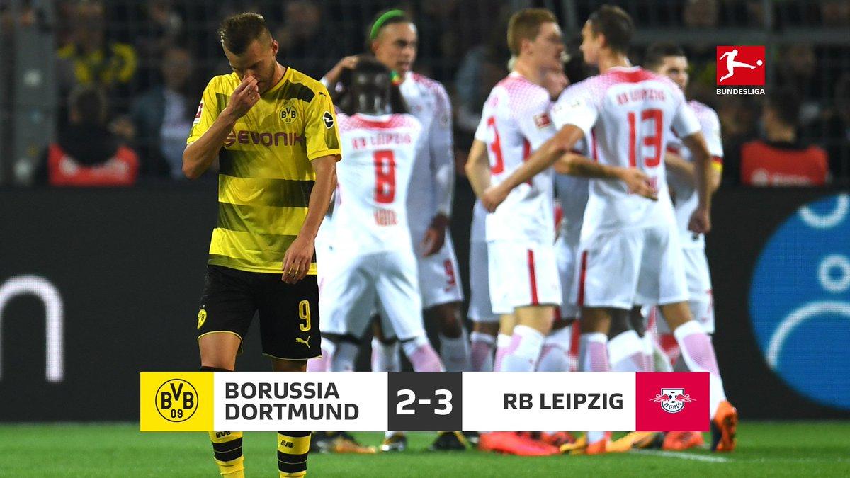 Dortmund 2-3 RB Leipzig 2017