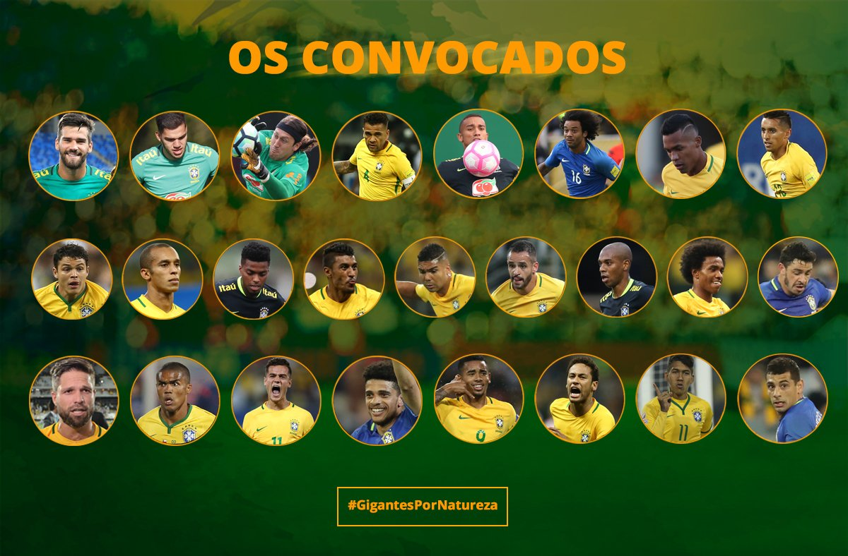 Douglas Costa, Neymar Gabriel Jesus make Brazil squad to face Japan and England