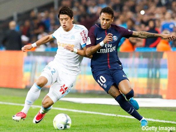 sakai hiroki Marseille 2-2 PSG 2017