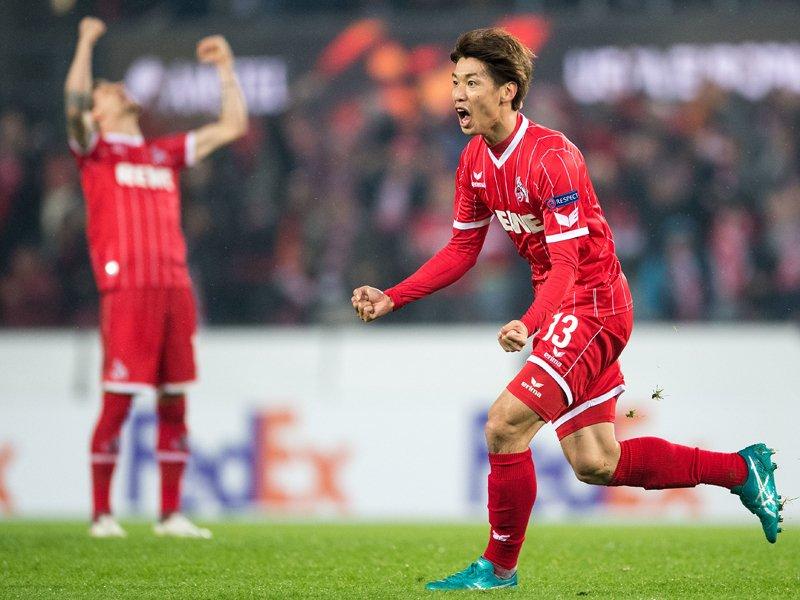 Koln 5 -2 BATE - Yuya Osako goal assist