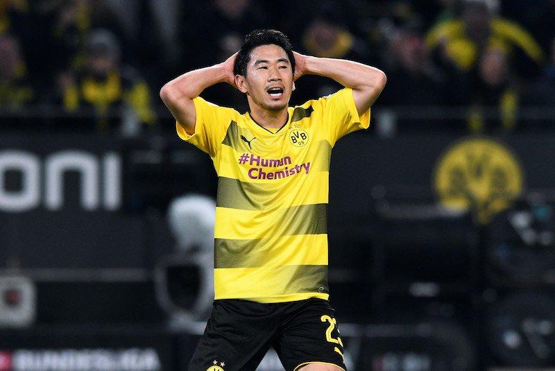 kagawa Borussia Dortmund 1- 3 Bayern Munich 2017