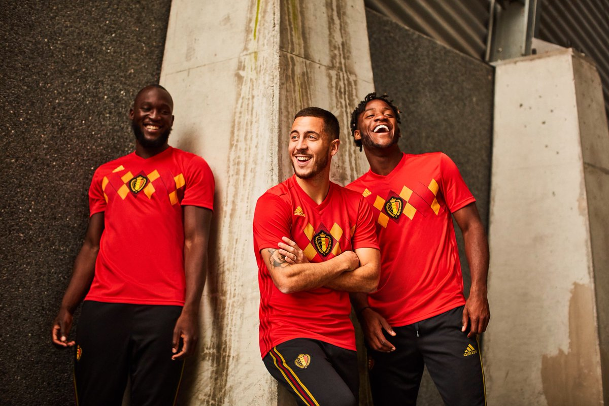 Belgium have released their 2018 World Cup home kit
