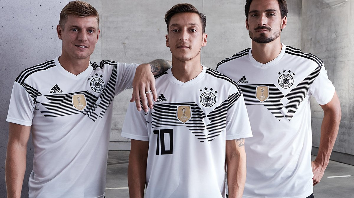 Germany's new World Cup kit throws it back to the 90s