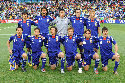 2010 world cup japan team