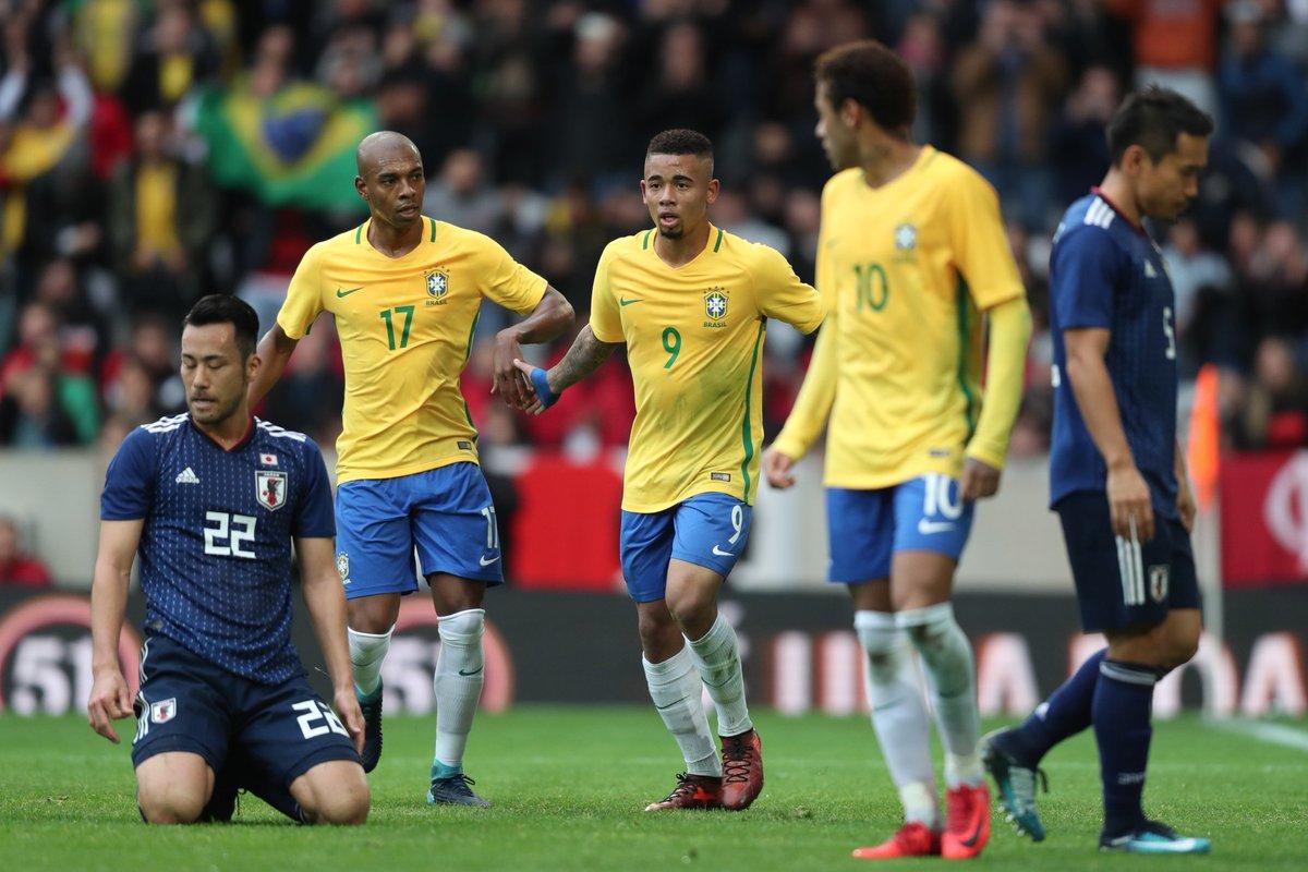 Japan 1x3 Brazil 2017