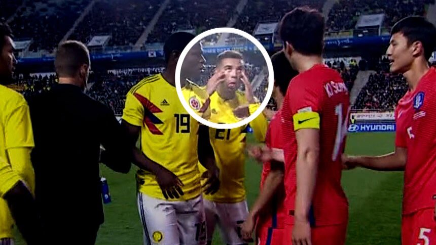 Colombia Edwin Cardona is racist