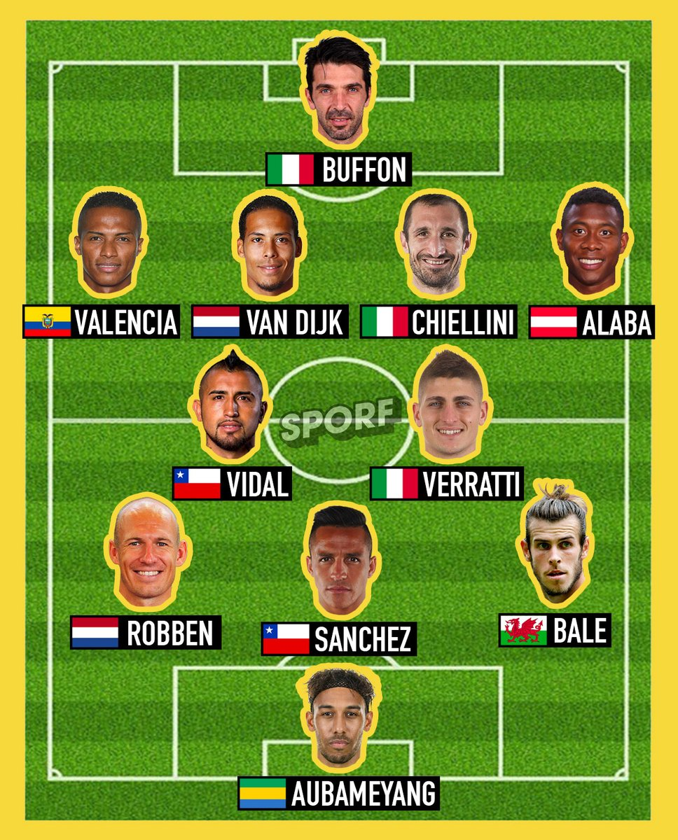 Russia World Cup 2018 missing XI