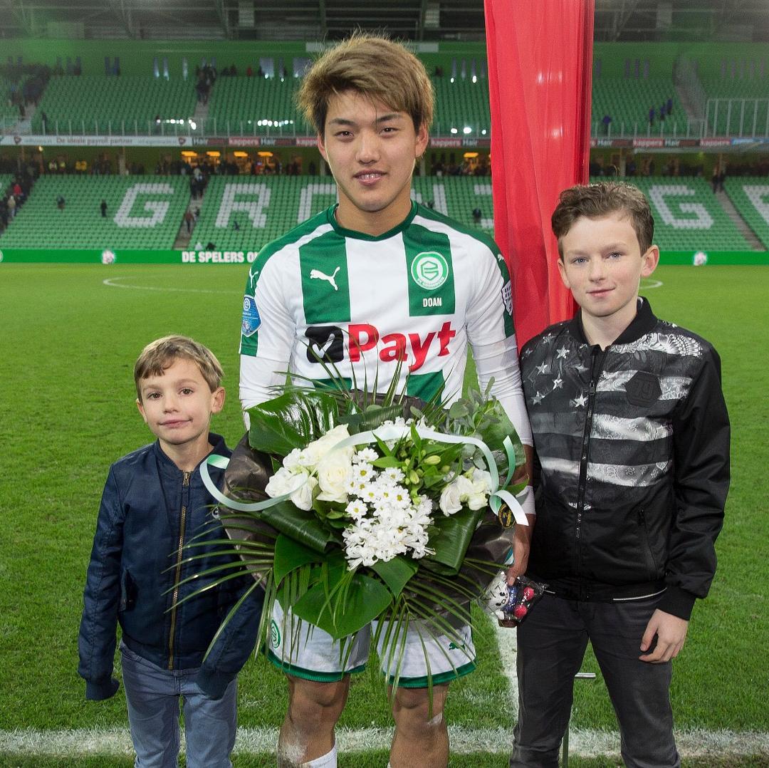 Ritsu Doan terecht MotM against Vitesse