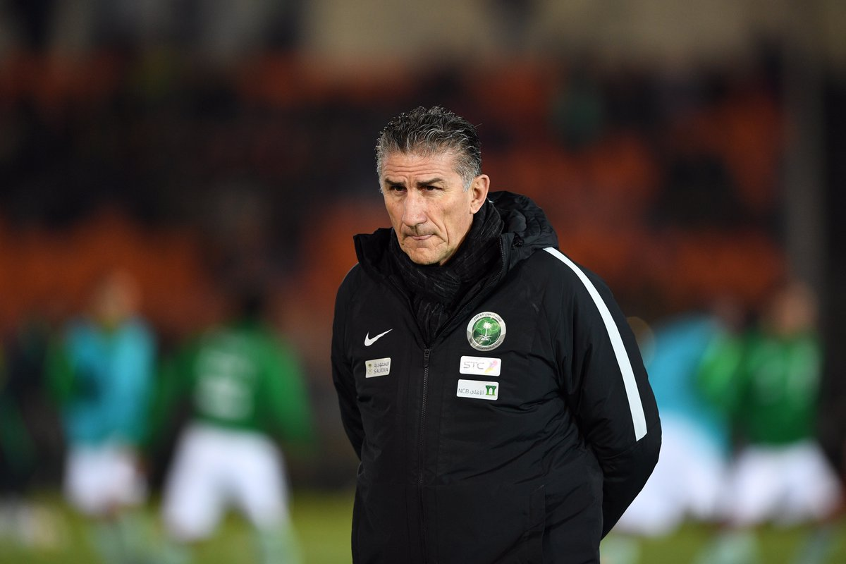 World Cup-bound Saudi Arabia fires coach Edgardo Bauza