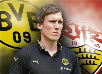 Neuer Coach des VfB Stuttgart BVB-Trainers Hannes Wolf