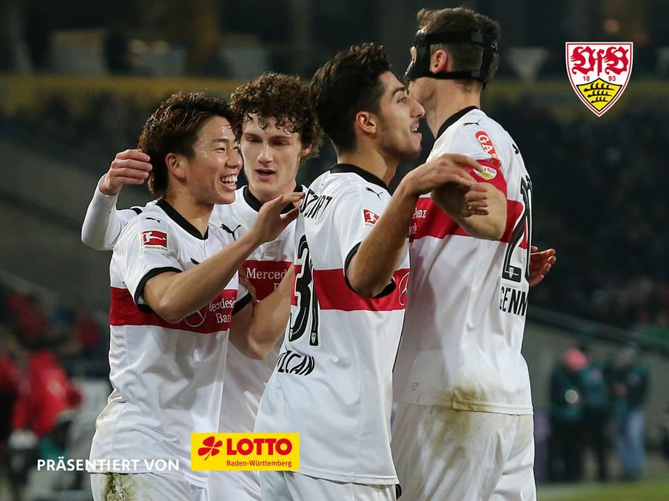 Hannover 96 - VfB Stuttgart 1_1 asano goal