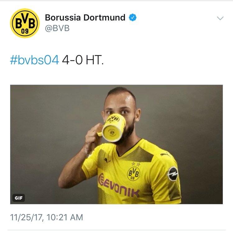 Dortmund 4-4 Schalke 2017