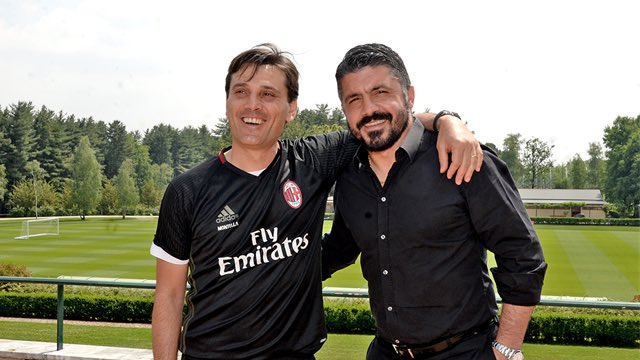 AC Milan sack Montella replace him with Gattuso
