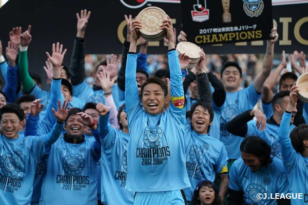 Kawasaki Frontale is 2017 J1 League Champions