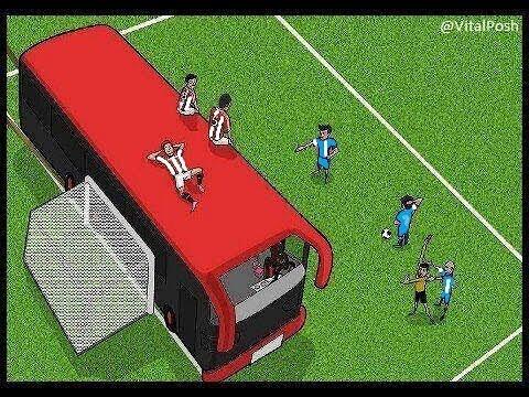 Jurgen Klopp slams Manchester United for parking the bus