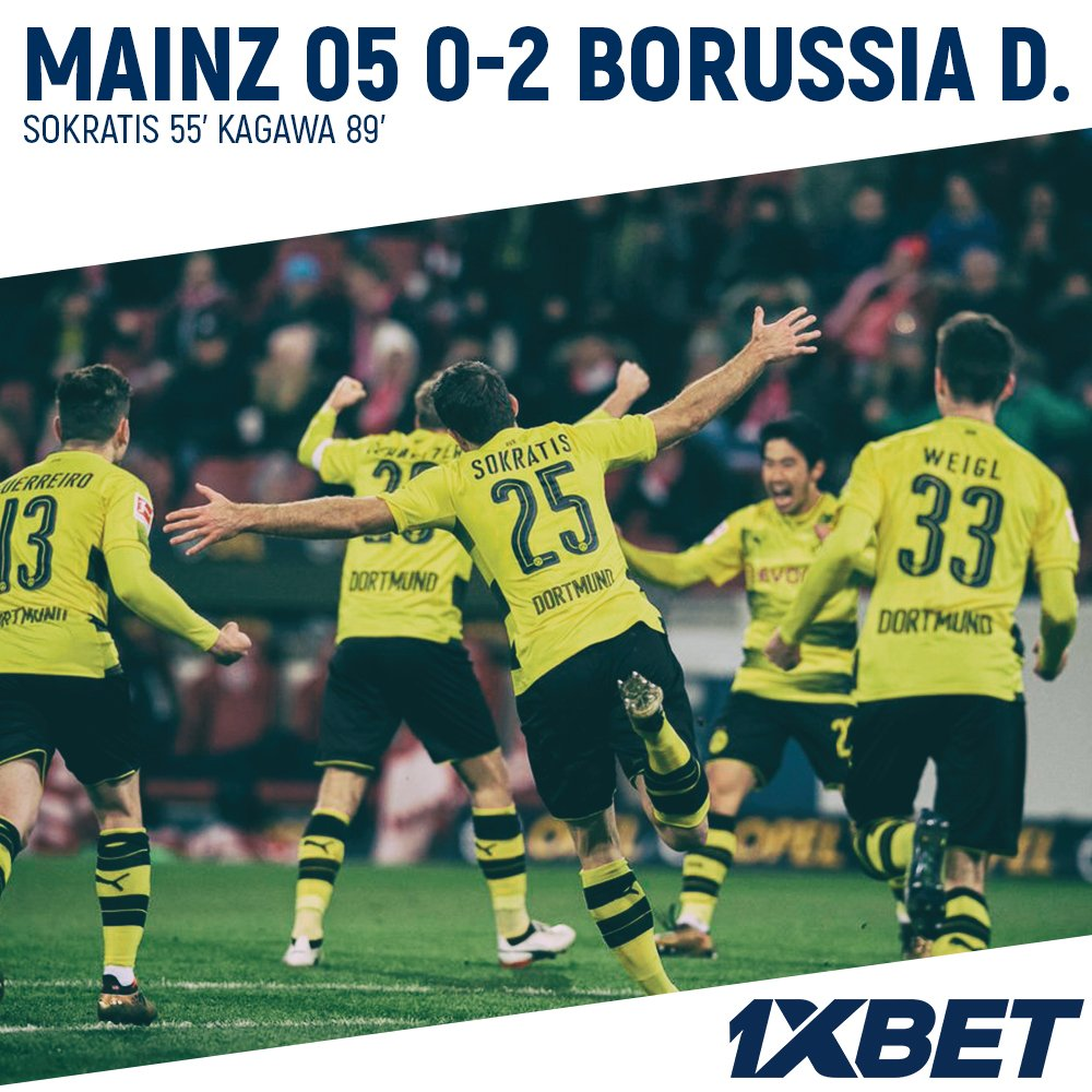 Sokratis #Kagawa hand #BVB first #Bundesliga win since September in #Stogers first game