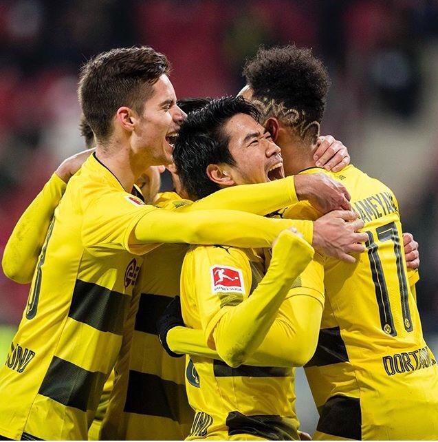 Mainz 0-2 Dortmund Sokratis Shinji Kagawa goal