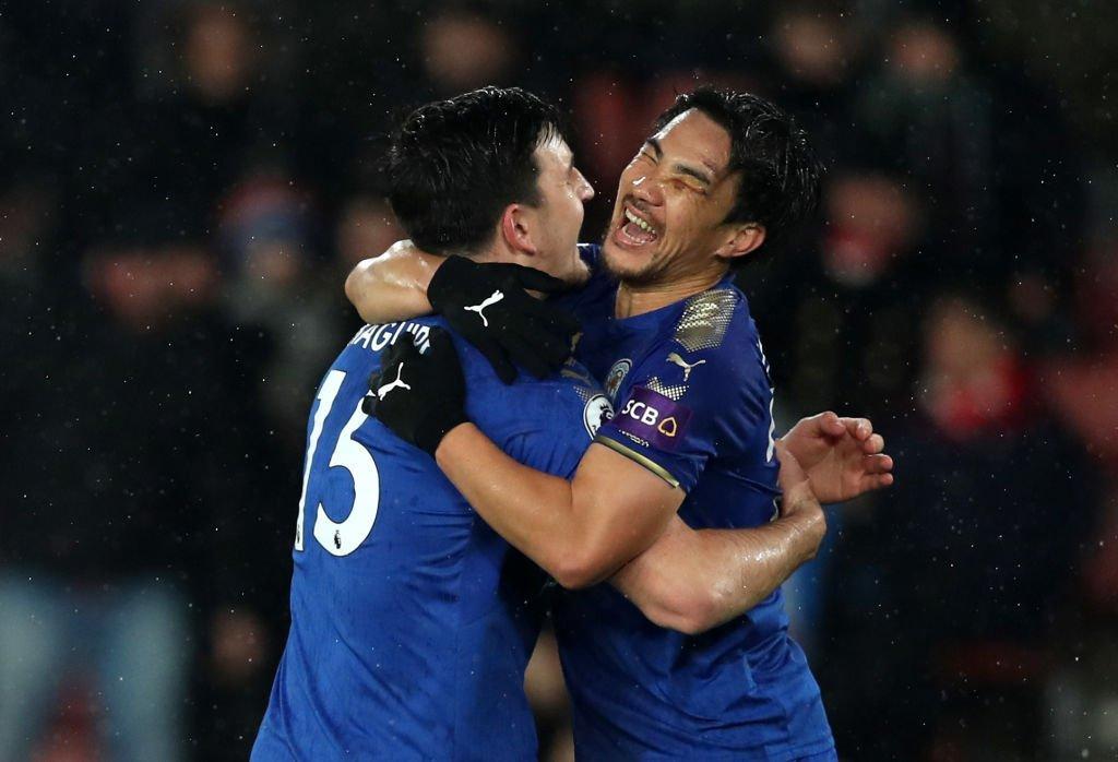 Southampton 0-3 Leicester City okazaki shinji goal