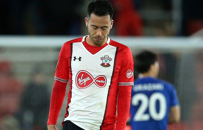 Southampton 1 -3 Leicester City Yoshida goal
