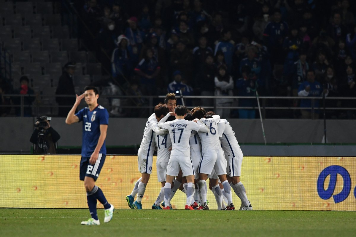 South Korea beats Japan 4-1 in Japan in the EAFF