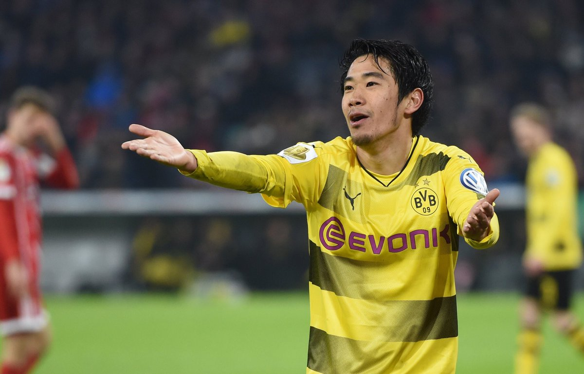 kagawa assist Bayern Munich 2-[1] Borussia Dortmund - Yarmolenko