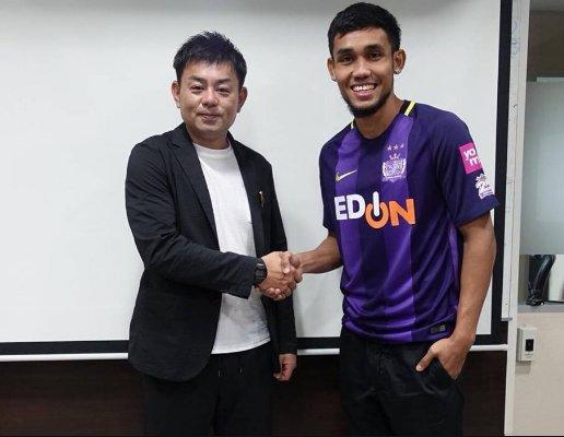 Thai striker Teerasil joins Sanfrecce Hiroshima