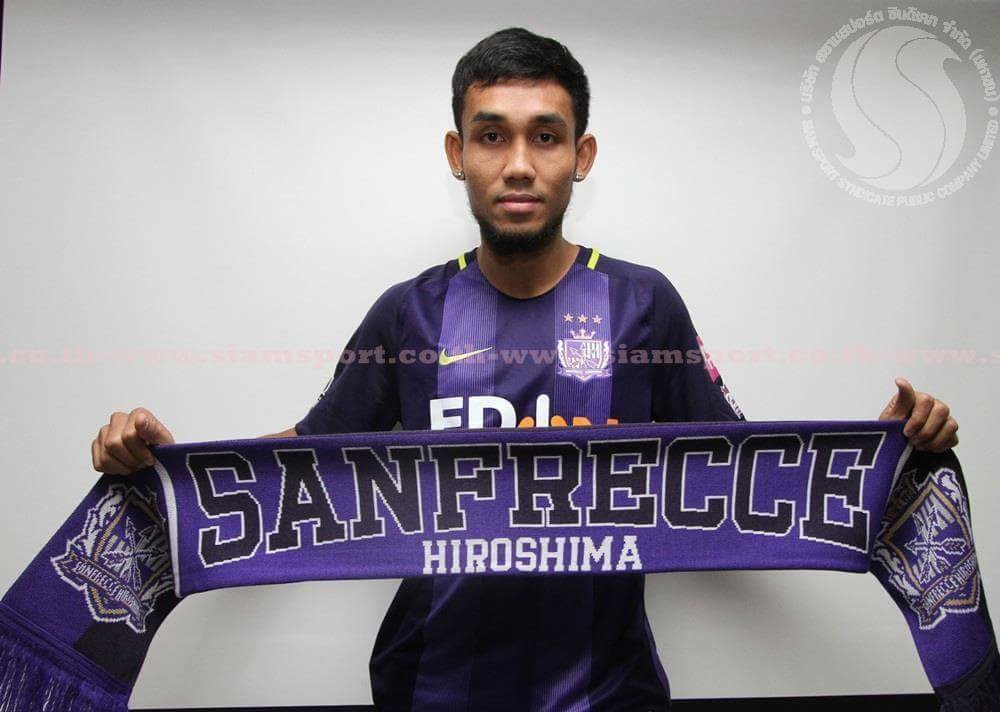 Thai superstar Teerasil Dangda will join @J_League side Sanfrecce Hiroshima on loan from @MuangthongUtd