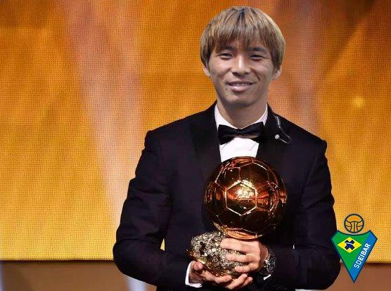 inui takashi bola de ouro