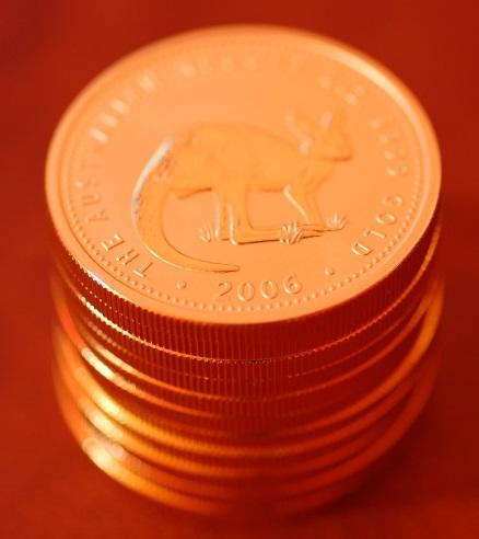 純金 コイン 投資