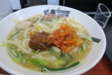 味噌&キムチ投入