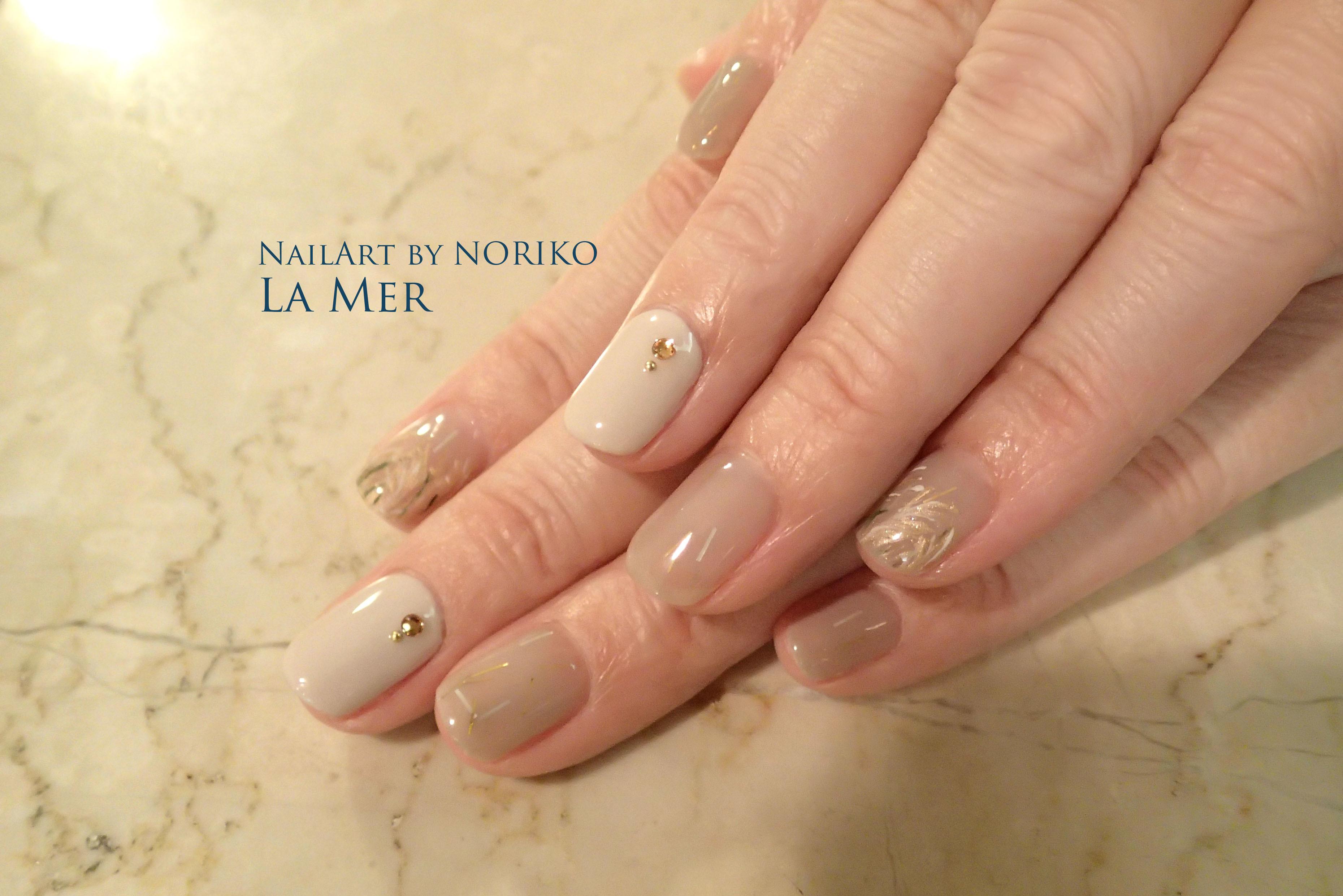 Nail Artist : NORIKO/ 典子 中秋の名月ネイル_2
