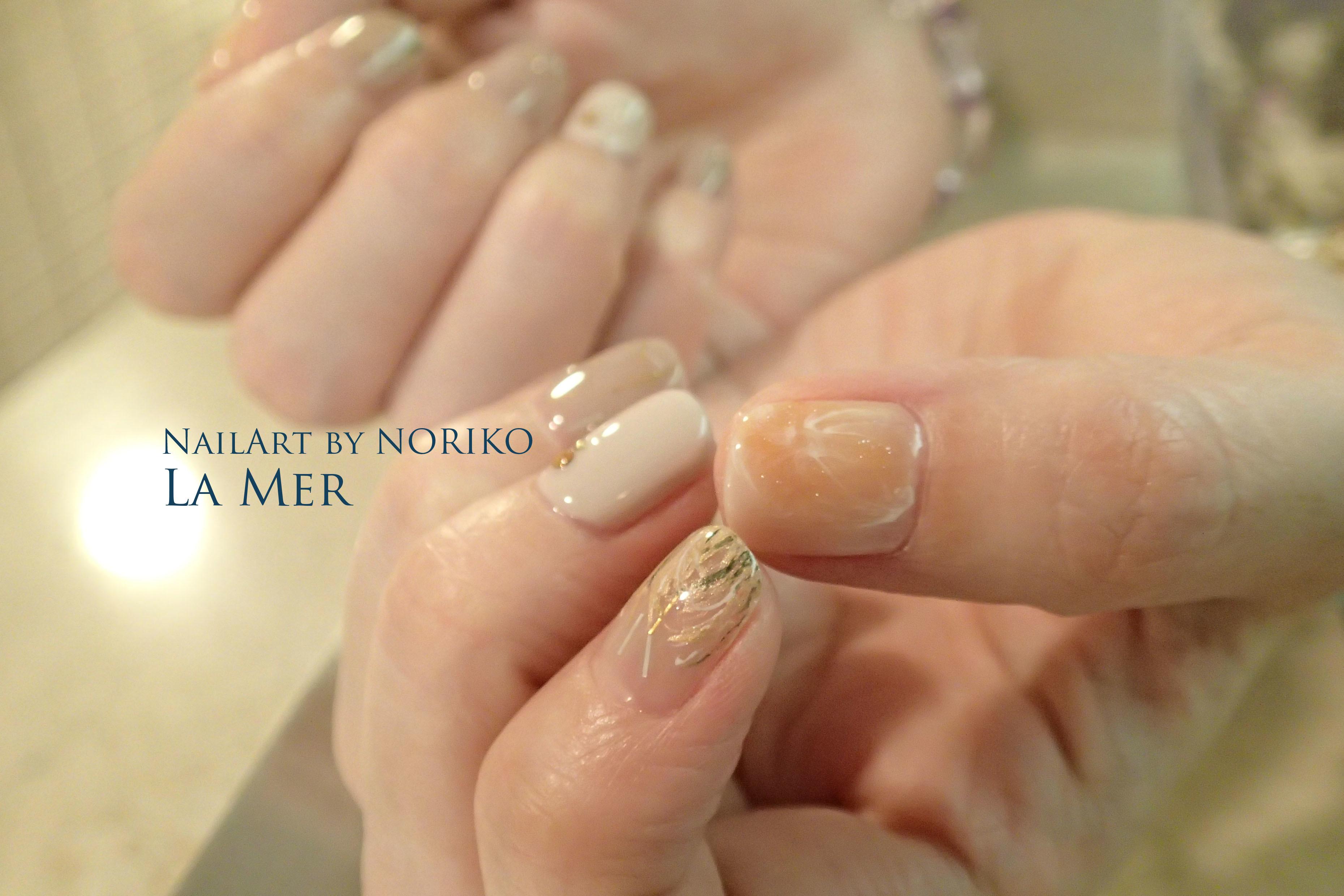Nail Artist : NORIKO/ 典子 中秋の名月ネイル_5