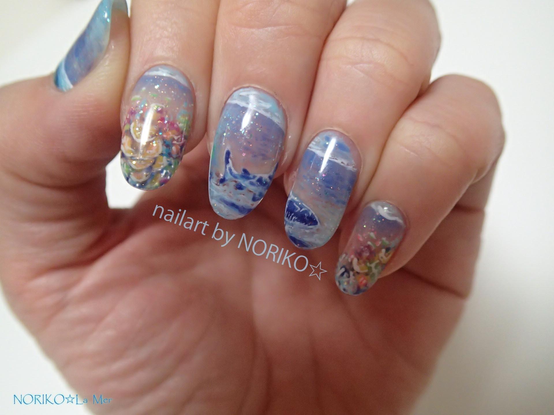 Nail Artist NORIKO palau gelpaint _1