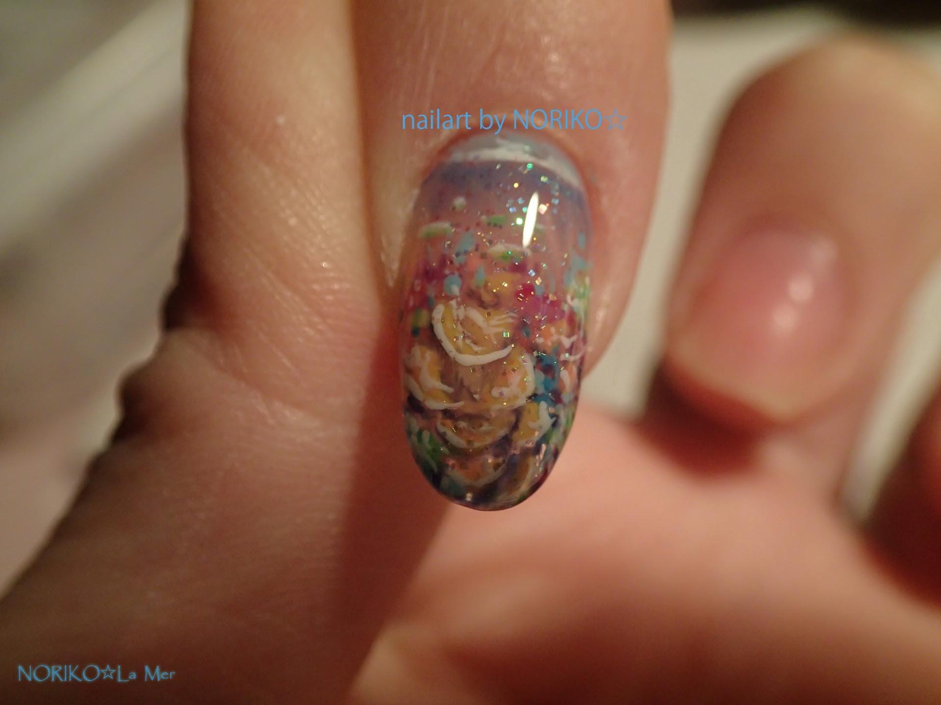 Nail Artist NORIKO palau gelpaint _8