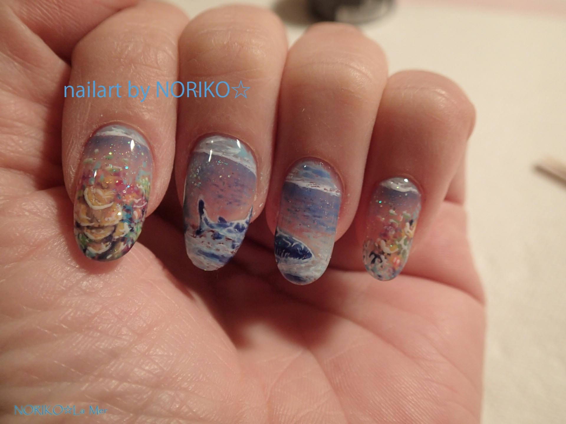 Nail Artist NORIKO palau gelpaint _9