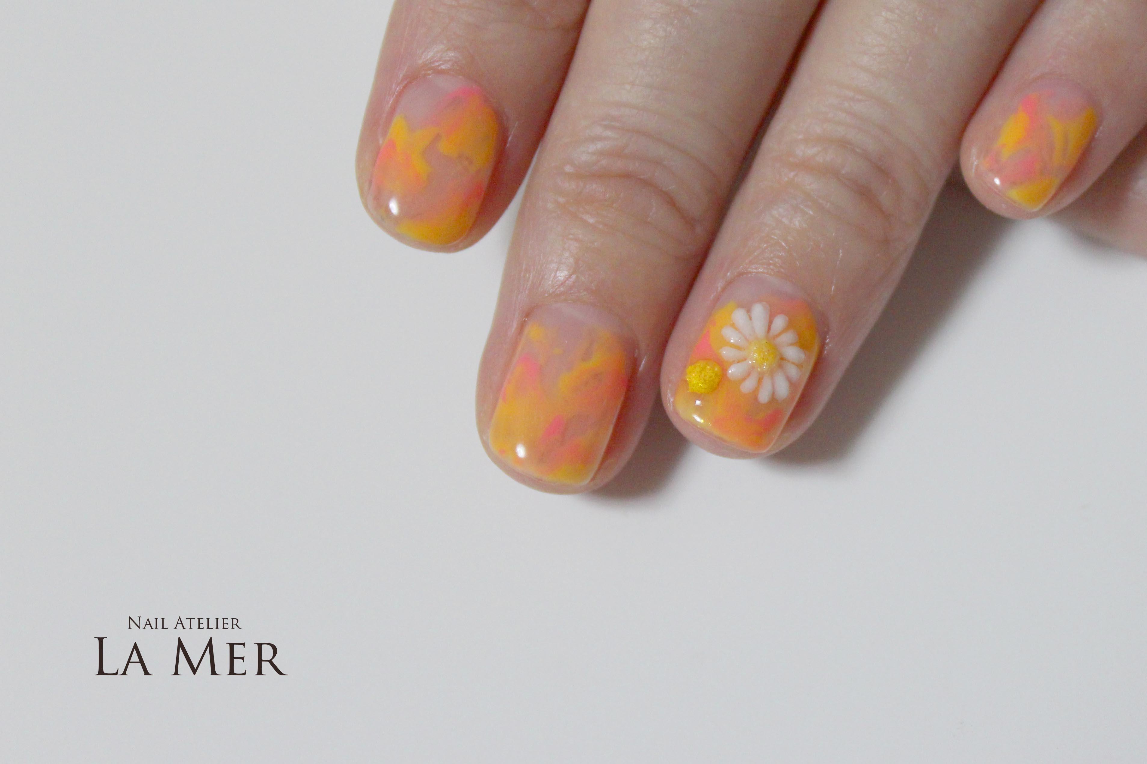 NailArtist NORIKO chrysanthemum 3D_2