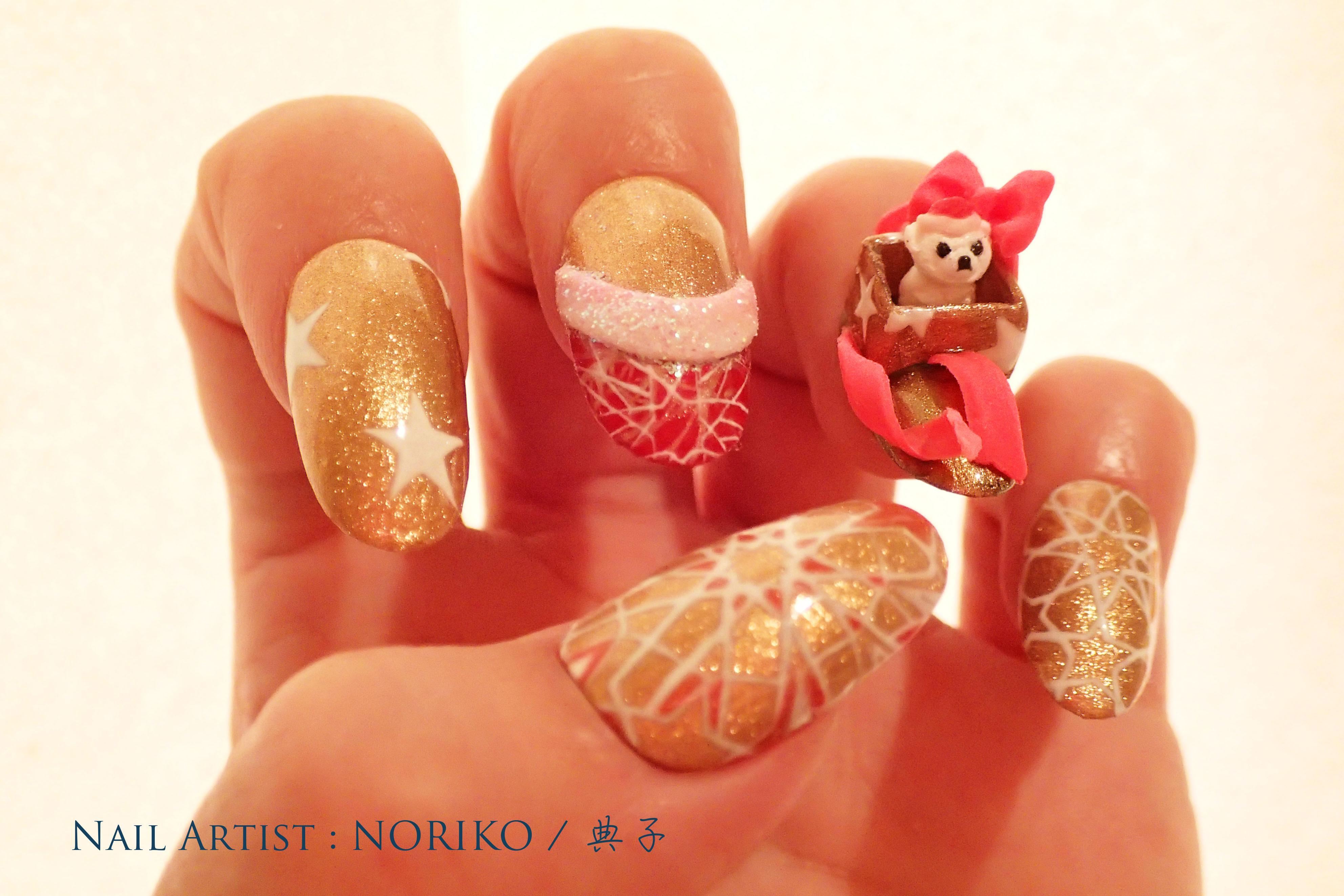 Nail Artist NORIKO Christmas2016