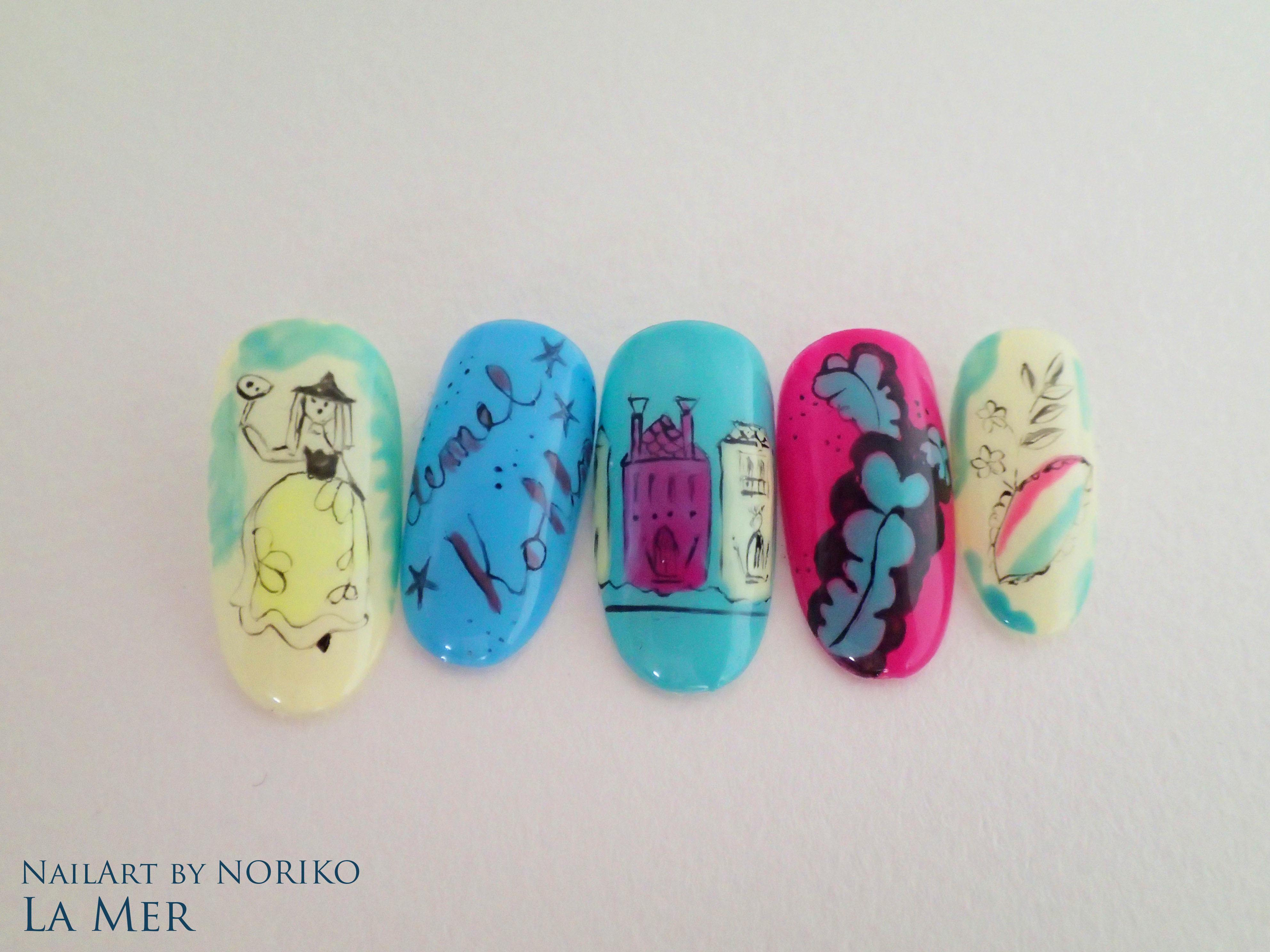Nail Artist NORIKO demel 8