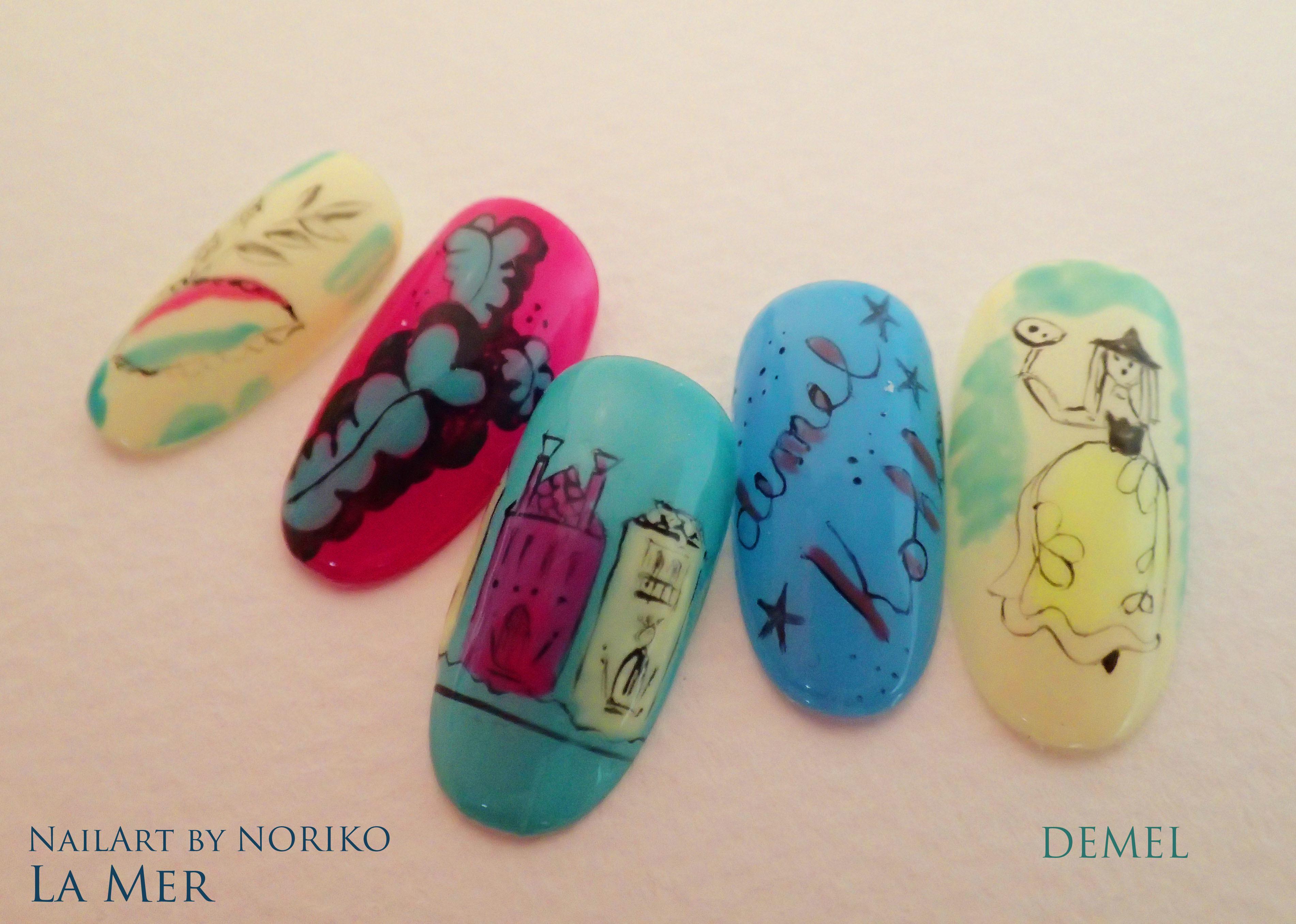 Nail Artist NORIKO demel 9