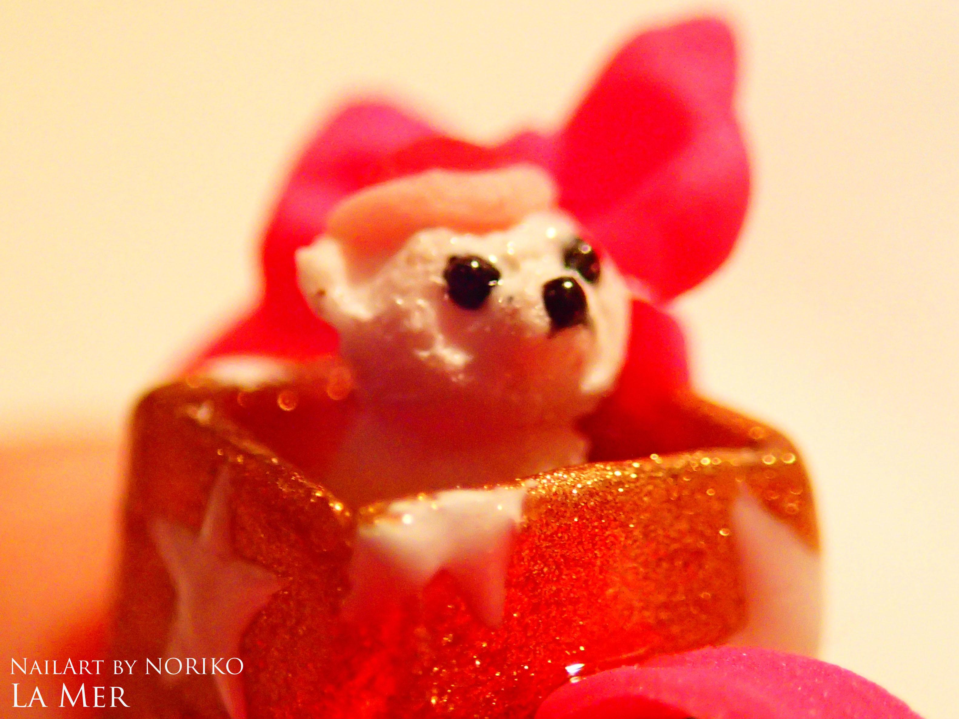 Nail Artist NORIKO Christmas2016 bear_2