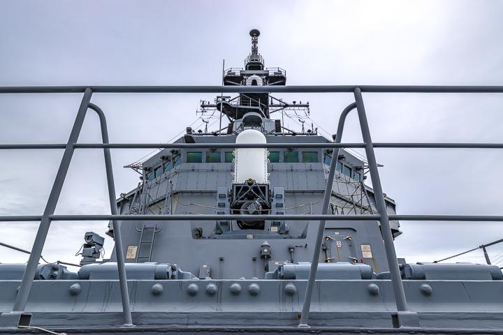 たかなみ型護衛艦 DD110 たかなみ 艦橋構造物