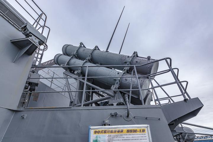 たかなみ型護衛艦 DD110 たかなみ 90式艦対艦誘導弾 SSM-1B