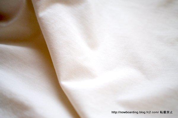ランズエンド白のスタンドネックノースリーブ