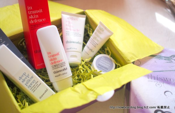 LOOKFANTASTIC BEAUTY BOX this worksコラボボックス