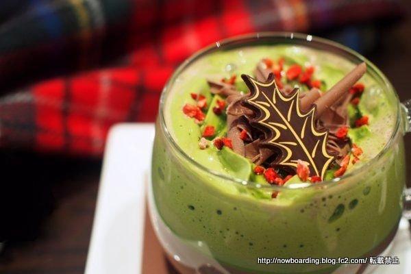 クリスマス限定  リンツ 抹茶 ホットチョコレードリンク
