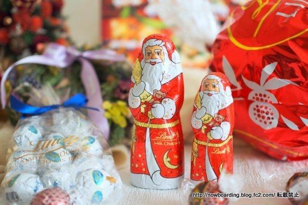 クリスマス リンツサンタ